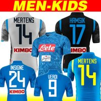 2019 Napoli Soccer Jersey 18 19 Customized  14 MERTENS  17 HAMSIK  24 INSIGNE  Soccer Shirt Naples home away 3rd Football Uniform champions 79d3b7c5a
