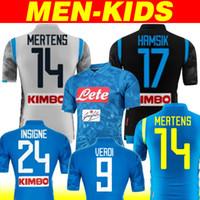 fec3d5f16 2019 Napoli Soccer Jersey 18 19 Customized  14 MERTENS  17 HAMSIK  24  INSIGNE Soccer Shirt Naples home away 3rd Football Uniform champions
