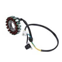 KIMISS Motorcycle Magneto Generator Stator Ignition Coil Fit for Suzuki GN 250