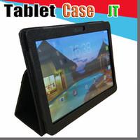 Wholesale general tablet case resale online - JT Leather case for quot inch Samsung N9106 MTK6572 MTK6582 MTK6589 MTK6592 tablet phone G tablet PC general case I PT