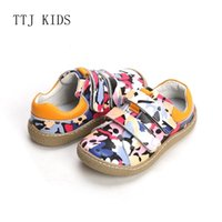 Wholesale leather quality shoes children for sale - Group buy COPODENIEVE Brand High Quality Fashion Fabric Stitching Kids Children Shoes For Boys And Girls Spring Barefoot Sneakers T190916