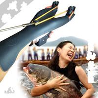 ingrosso frecce di riposo-Potente Pesca Pesca con la fionda Caccia alla pesca con la catapulta Frecce di prua per il tiro Ripresa con l'arco Composito Slingbow in policarbonato