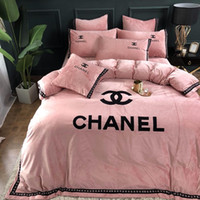 Wholesale design bedding resale online - High Grade Contracted Bedding Design Europe And America Duvet Cover Sheet Pillowcase Cover Sets