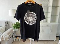 tophemden designs großhandel-Mens Designer T Shirts Schwarz Weiß Design der Münze Mens Fashion Designer T Shirts Top Kurzarm T-Shirt