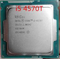 procesadores amd am2 al por mayor-Procesador Intel Core i5 4570T 2.9GHz Quad-Thread de doble núcleo 4M 35W LGA 1150 CPU i5-4570T