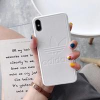casos envio grátis venda por atacado-Uma peça de luxo iphone xr phone case para iphone 7 8 plus fashion new designer high end TPU casos de iphone frete grátis