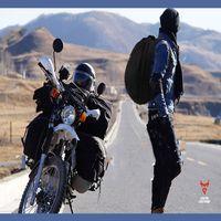 rucksäcke für motorräder großhandel-Motorrad Tour wasserdicht Rennhelm Rucksack Motorrad Tasche Fahrer Rucksack Tasche Reiten