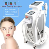Wholesale anti wrinkle hair removal resale online - Newest OPT SHR IPL Machine Painfree Permanent Hair Removal Pigment Therapy Laser Tattoo Removal Machine Price rf anti aging wrinkle machines
