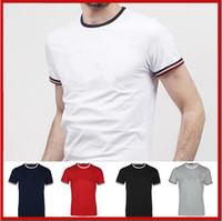 Wholesale led square panel resale online - New men s designer autumn and winter brand men s letter printing T shirt lead the trend of men s street fashion T shirt