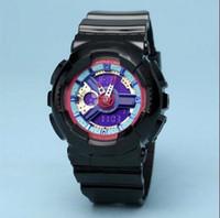 relógio dropship venda por atacado-2019 Popular Crianças Assista desenhos animados SHOCK Relógio de pulso Led Digital Relógio Despertador Rapazes Raparigas Dual Display pulso Reloj Dropship Saat