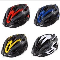 capacetes de equitação pretos venda por atacado-Capacete de Bicicleta de montanha Bicicleta Equitação Máscara Homens E Mulheres Preto Resistente Ao Desgaste Craniacea Nova Chegada 15 5jy C1