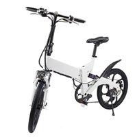 bicicleta transversal do carbono venda por atacado-Bicicleta elétrica ZM2007 Montanha De Fibra De Carbono Personalizada Andando Cruz Praia Velocidade E Estrada Dobrável Bicicleta Elétrica