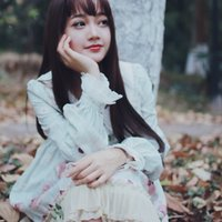 ingrosso abiti da principessa giapponese-New Japanese Lolita Pine Forest Materiale stampato principessa gonna Highwaisted Op Soft Girl Dress
