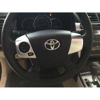 volantes de toyota al por mayor-Ribete decorativo plateado cromado para Toyota Camry 2015