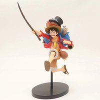 ingrosso figurina luffy-No Scatola Anime One Piece Mania Monkey D Rufy Figurine Toy Doll Brinquedos Figures Collection OP Modello regalo
