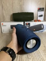 Wholesale bluetooth computer mic resale online - Bluetooth Speaker waterproof charge With Mic HIFI Subwoofer Portable Outdoor Wireless Bluetooth Speaker Sports Speaker for VS charge