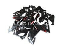 carenagens para aprilia rs125 venda por atacado-4Gifts New ABS Injection Molding motocicleta Carenagens Kits 100% apto para Aprilia RS125 06 07 08 09 10 11 2006-2011 carroçaria definir costume preto