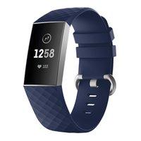 se watch оптовых-Часы Браслет для Fitbit Charge 3 Ремешок Силиконовый Спорт Заменить Аксессуары для Fitbit Band Correa Reloj Charge 3 SE