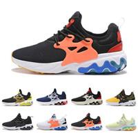 mini bal toptan satış-nike react Tasarımcı ayakkabı Koşu Presto ReacPsychedelic Lava Breezy Perşembe Acımasız Bal Rabid Panda Üçlü Siyah Kadın Erkek Eğitmen Spor Sneakers