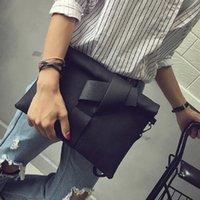pochette noire achat en gros de-Nouveau Mode Femmes Enveloppe Clutch Bag Toile Femelle Jour Embrayages Noir Femmes Sac À Main Poignet D'embrayage Bourse Du Soir Sacs Bolsas # 173053