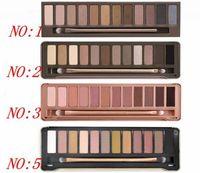 dhl freie verschiffenaugenschminke großhandel-Fabrik direkt dhl versandkostenfrei neue make-up auge heiß nein: 1/2/3/5 palette 12 farben lidschatten!
