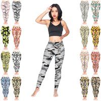 ingrosso mescolare i pantaloni di yoga-Leggings donna Mix 16 Styles Cat Camo Classic MAKE LOVE NOT WAR Neon 3D stampato Fitness Pencil Fit Girls Pantaloni comodi Yoga (JL231)