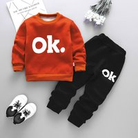 children tracksuit 2019 autumn winter girls clothes tops+pants christmas  outfit kids boys clothes suit for girls clothing sets fa29bf328