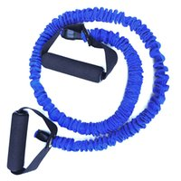 tubo de látex vermelho venda por atacado-Ocaler Fitness Elastic Tube Látex Puxar Corda Workout Yoga Muscle Exercise Rope (vermelho)
