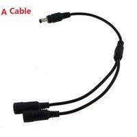 соединительные шнуры оптовых-3 вида 1-к-2 шнура мужчина к женскому кабелю силы соединяясь Y / USB / удлинительный кабель для соединяют свет велосипеда с блоком батарей