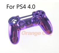 Wholesale sony dualshock 4 wireless controller resale online - Replacement Chrome Housing Shell Case for Sony PS4 Pro Wireless V2 Controller JDS040 Mod Kit Cover for Dualshock Pro Controller