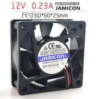 Wholesale 12v 0.23a fan resale online - Taiwan Jamicon V A JF0625S1H CR CM Inverter Silent Fan