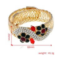 Wholesale wells springs for sale - Group buy European and American explosive ornaments can adjust the opening Bracelet personality spring flower hand ornaments quickly sell well