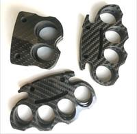 ingrosso set di gioielli indiani pavone-Il più recente CNC Full fibra di carbonio carino sicurezza personale all'aperto nocche duster anello esterno