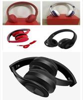 bluetooth kulaklık tf kartı toptan satış-iPhone Samsung için Mikrofon Kulaklık Destek TF Kart ile 2018 yeni Kalite Kablosuz Kulaklık Stereo Bluetooth Kulaklık kulaklıklar