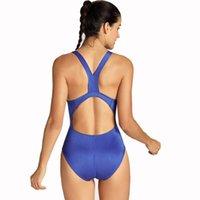frauen trainingsbadeanzug großhandel-Damen Elite Pro Maxback Sport Training Athletischer Badeanzug Y19072601