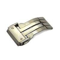 ingrosso orologi di grande fascia-Spedizione gratuita Orologio da 20mm 22mm 24mm Nuovo cinturino in acciaio inossidabile di alta qualità cinturino fibbia in pelle fibbia in silicone per BIG BA