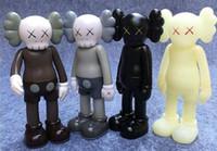 jouet bâton marionnette achat en gros de-2018 Nouvelle arrivée Kaws Original Fausse Action Figure Collection Poupée Cadeaux De Noël Anniversaires Jouets Gloomy-Ours MoMo Bear POPOBE Qee Bearbrick