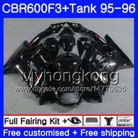 Wholesale fairing factory for sale - Group buy Bodys Tank For HONDA CBR F3 FS CBR600FS CBR600 F3 HM CBR600RR CBR600F3 Factory black hot CBR F3 Fairing