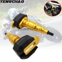 carenagem zxr venda por atacado-Proteção da motocicleta Quadro Slider Fairing Guard Anti Bater Pad Protector Para ZXR750 ZXR 750 1989-1995