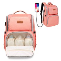 Wholesale pink diapers for sale - Group buy Large Capacity Mommy Backpack Colors Mommy Backpacks Nappies Bags Mother Maternity Diaper Backpack Multifunctional Mommy Changing Bag