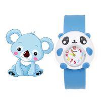 reloj chico para chicas al por mayor-Relojes infantiles para niña niño de dibujos animados brid slap niños bebé niña niño reloj de silicona jalea niños reloj deportivo