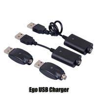 batterie de cigarettes électroniques evod achat en gros de-Ego USB Chargeur Cigarette Électronique E Cig Sans Fil Chargeurs Câble Pour 510 Ego T C EVOD Twist vision spinner 2 3 mini batterie