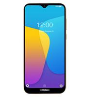 doogee android telefones venda por atacado-Barato 3G WCDMA DOOGEE Y8C Quad Core MTK6580 1 GB 16 GB Android 9.0 6.1