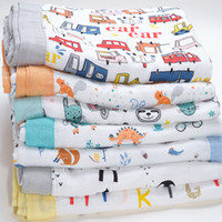 Wholesale use diaper for sale - Group buy Muslinlife Baby Blankets Newborn Swaddle Layers Bamboo Cotton Muslin Diapers Multi use Baby Bath Towel Dropshipping Infantil