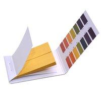 ph gösterge şeritleri toptan satış-100 Adet Ph Metre Ph Testi Şeritler Gösterge Testi Şeritler 1-14 Kağıt Litmus Tester / marka Yeni Ölçüm Analiz Cihazları T8190619