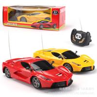 беспроводная игрушка оптовых-Аккумулятор дистанционного управления автомобилем Беспроводное управление 10 метров расстояние Ferrari Lamborghili Racing модель дети любимые игрушки 2019 горячее надувательство