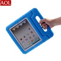 cubierta de protección mini ipad al por mayor-Cubierta de la caja de protección a prueba de choques portátil segura para niños para nuevo iPad mini4 mini 1/2/3 soporte de manija de espuma EVA
