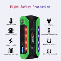 Wholesale best battery power bank resale online - 800A Best Multi Function Car Battery Starter Portable Emergency Charger mAh Power Bank Starting Device