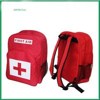 nylon rucksack stoff wasserdicht großhandel-Medical Survival Kit Outdoor-taktische Erste-Hilfe-Kits Reiserucksack Medizin Aufbewahrungstasche Leere wasserdichtes Nylongewebe 35jsa O1