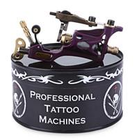 ingrosso macchine tatuaggio rotante viola-La mitragliatrice rotatoria del motore della lega professionale del tatuaggio porpora per la mitragliatrice del tatuaggio dei corredi di shader della fodera esegue il trasporto libero di rendimento elevato AB